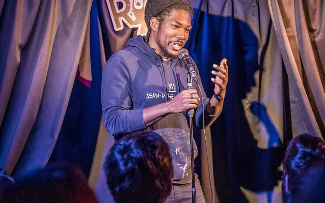 The World Is His Stage    Stand Up Comedian: Runako